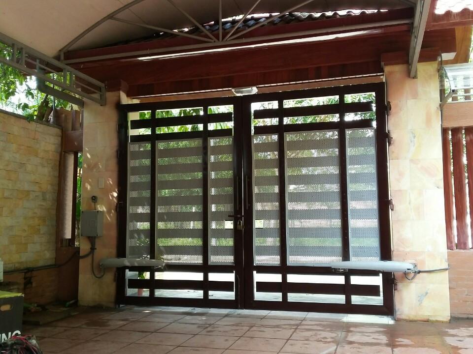 Cửa cổng tự động nhu cầu cần thiết cho ngôi nhà hiện đại