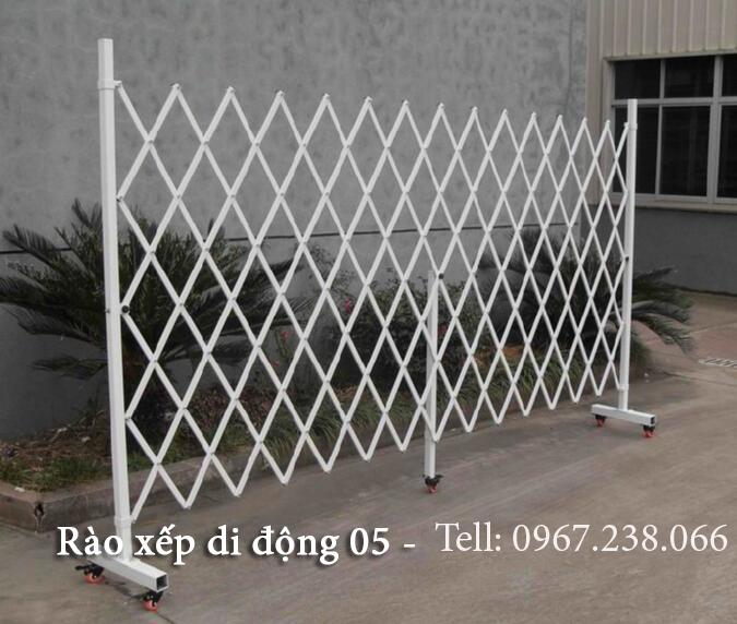 Hàng rào xếp di động nhựa