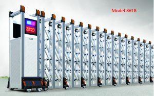 Mẫu cổng xếp tự động hiện đại