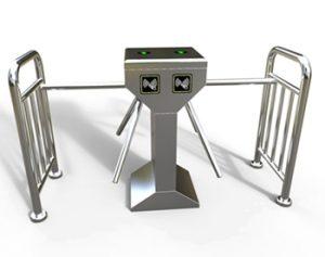 cổng xoay tự động