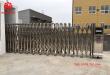 Cổng xếp inox 201 lắp đặt tại nhà máy O Sung RF VINA kcn quế võ - bắc ninh